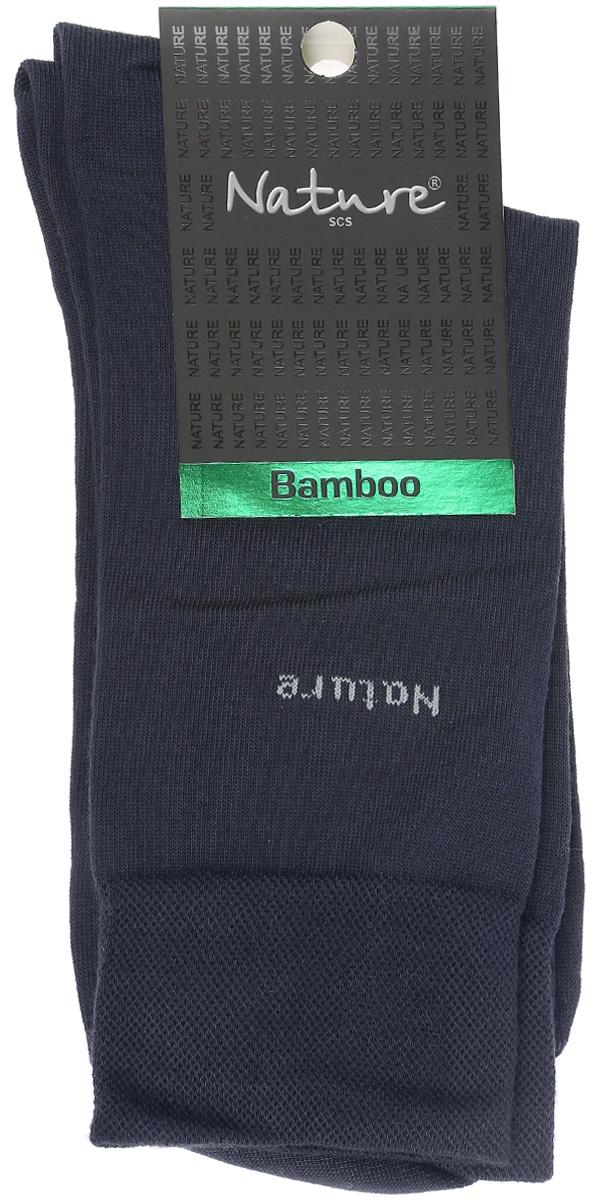 Носки414Удобные мужские носки Nature, изготовленные из высококачественного комбинированного материала, идеально подойдут для повседневной носки. Благодаря содержанию мягких бамбуковых волокон в составе, кожа сможет дышать, полиамид обеспечивает износостойкость, а эластан позволяет носочкам легко тянуться, что делает их комфортными в носке. Эластичная резинка плотно облегает ногу, не сдавливая ее, обеспечивая комфорт и удобство. Практичные и комфортные носки с укрепленным мыском и пяткой великолепно подойдут к вашей повседневной обуви.