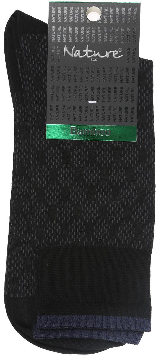 Носки433Удобные мужские носки Nature, изготовленные из высококачественного комбинированного материала, идеально подойдут для повседневной носки. Благодаря содержанию мягких бамбуковых волокон в составе, кожа сможет дышать, полиамид обеспечивает износостойкость, а эластан позволяет носочкам легко тянуться, что делает их комфортными в носке. Эластичная резинка плотно облегает ногу, не сдавливая ее, обеспечивая комфорт и удобство. Практичные и комфортные носки с укрепленным мыском и пяткой великолепно подойдут к вашей повседневной обуви.