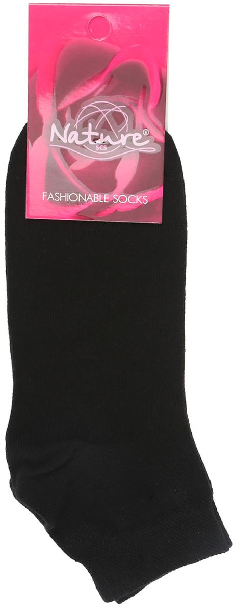 Носки163жУдобные укороченные женские носки Nature, изготовленные из высококачественного комбинированного материала, идеально подойдут для повседневной носки. Благодаря содержанию мягкого хлопка в составе, кожа сможет дышать, полиамид обеспечивает износостойкость, а эластан позволяет носочкам легко тянуться, что делает их комфортными в носке. Эластичная резинка плотно облегает ногу, не сдавливая ее, обеспечивая комфорт и удобство. Практичные и комфортные носки с укрепленным мыском и пяткой великолепно подойдут к вашей повседневной обуви.