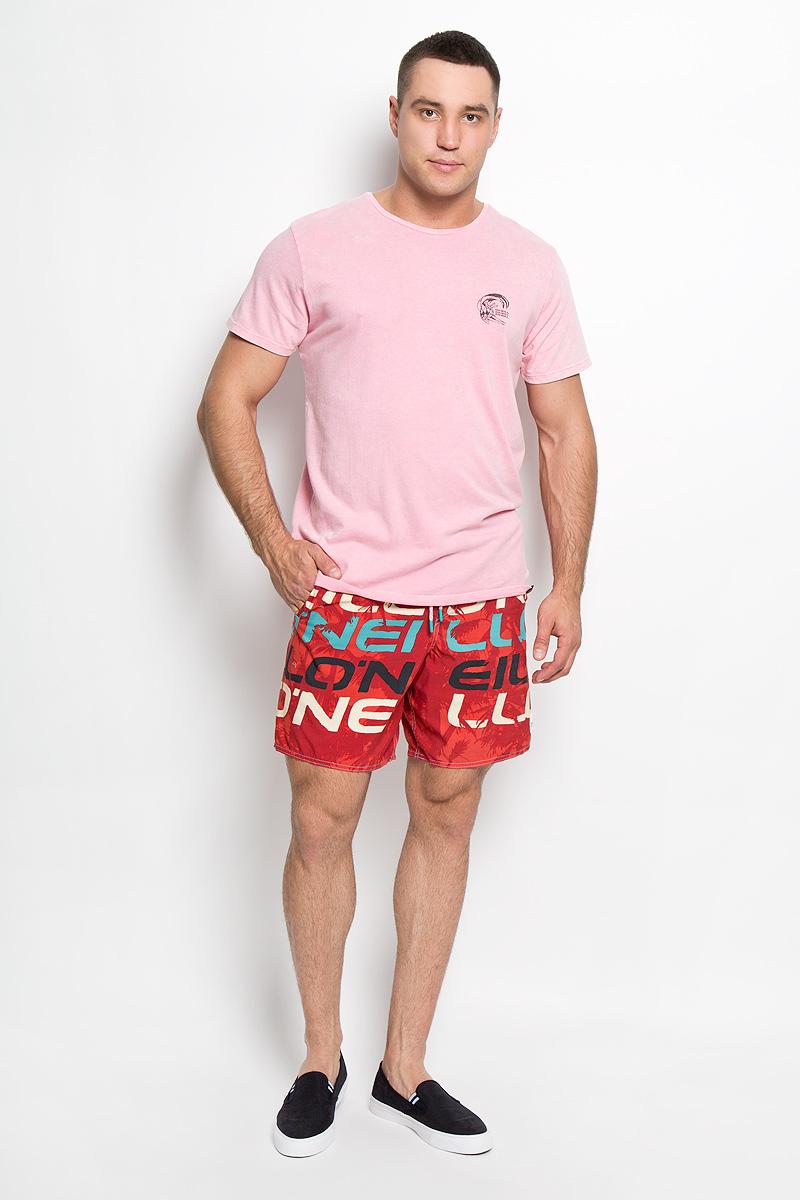 Футболка602310-4026Стильная мужская футболка ONeill, выполненная из высококачественного натурального хлопка, обладает высокой воздухопроницаемостью и гигроскопичностью, позволяет коже дышать. Такая футболка великолепно подойдет как для повседневной носки, так и для спортивных занятий, она не будет стеснять движений и станет незаменимой в жаркие летние дни. Модель с короткими рукавами и круглым вырезом горловины - идеальный вариант для создания модного современного образа. Футболка оформлена принтом с логотипом бренда спереди и на спинке. Такая модель подарит вам комфорт в течение всего дня и послужит замечательным дополнением к вашему гардеробу.