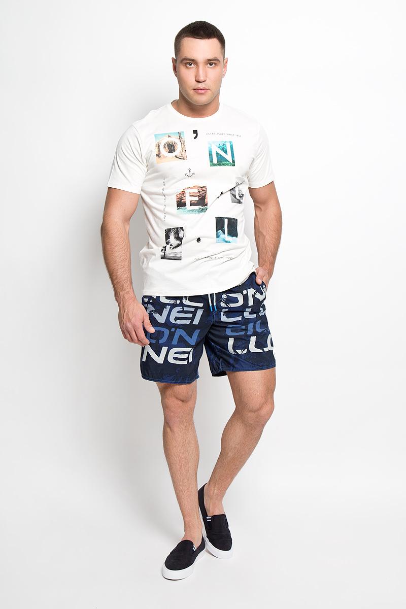 Футболка602328-1030Стильная мужская футболка ONeill, выполненная из высококачественного 100% хлопка, обладает высокой воздухопроницаемостью и гигроскопичностью, позволяет коже дышать. Такая футболка великолепно подойдет как для повседневной носки, так и для спортивных занятий. Модель с короткими рукавами и круглым вырезом горловины - идеальный вариант для создания модного современного образа. Футболка оформлена принтом с изображением букв на фоне красочных фотографий. Такая модель подарит вам комфорт в течение всего дня и послужит замечательным дополнением к вашему гардеробу.