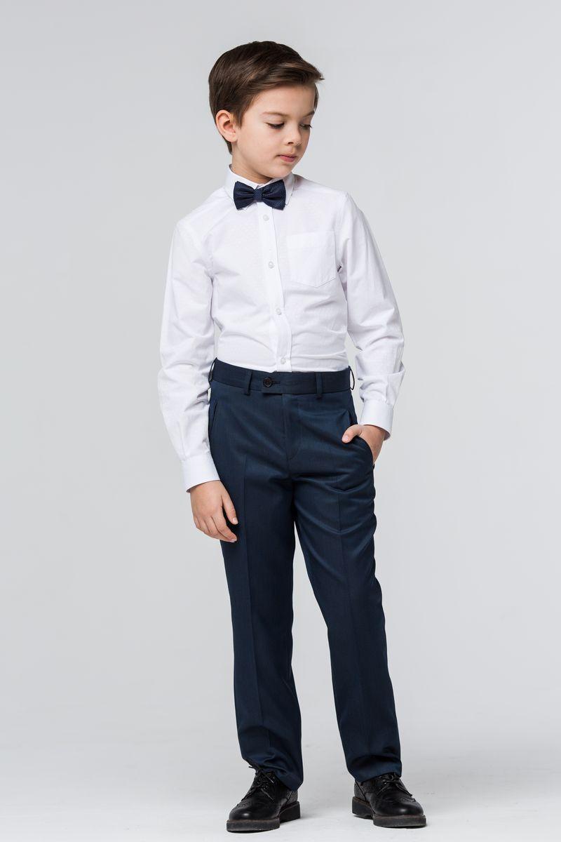 БрюкиSSFSB-629-16002-317Стильные брюки Silver Spoon станут отличным дополнением к школьному гардеробу вашего мальчика. Модель изготовлена из полиэстера с добавлением вискозы и эластана. Брюки прямого кроя и стандартной посадки застегиваются на пуговицу и крючок в поясе, и ширинку на застежке-молнии. На поясе имеются шлевки для ремня. С внутренней стороны пояс дополнен регулируемой эластичной резинкой, которая позволяет подогнать модель по фигуре. Спереди брюки дополнены двумя прорезными карманами, сзади - двумя прорезными карманами на пуговицах.
