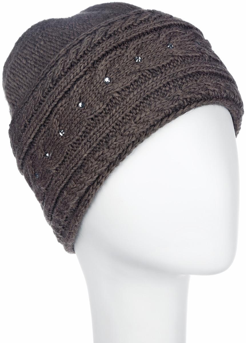 Шапка7108S_11 GMСтильная женская шапка Flioraj - теплая модель для холодной погоды. Сочетание различных материалов обеспечивает сохранение тепла и удобную посадку. Модель отлично тянется и оформлена крупной фигурной вязкой и стразами. Понизу шапка дополнена широким отворотом. Flioraj - комфортная защита от холода.