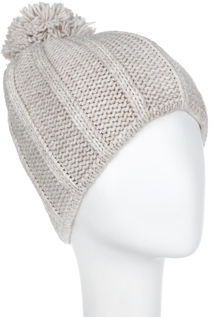 Шапка женская 7124S7124S-11Стильная женская шапка Flioraj отлично дополнит ваш образ в холодную погоду. Сочетание шерсти и акрила максимально сохраняет тепло и обеспечивает удобную посадку, невероятную легкость и мягкость. Модель оформлена крупной фигурной вязкой и дополнена помпоном. Привлекательная стильная шапка Flioraj подчеркнет ваш неповторимый стиль и индивидуальность.