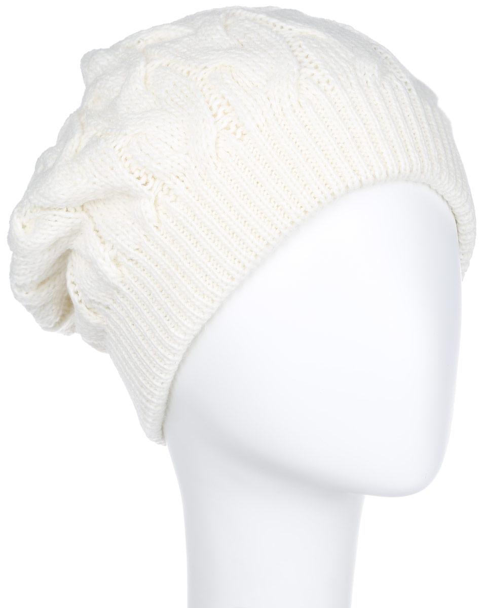 Шапка7113S_11 GMСтильная женская шапка Flioraj с фактурной вязкой дополнит ваш образ в холодную погоду. Сочетание шерсти и акрила максимально сохраняет тепло и обеспечивает удобную посадку, невероятную легкость и мягкость. Привлекательная стильная шапка Canoe Amanda подчеркнет ваш неповторимый стиль и индивидуальность.
