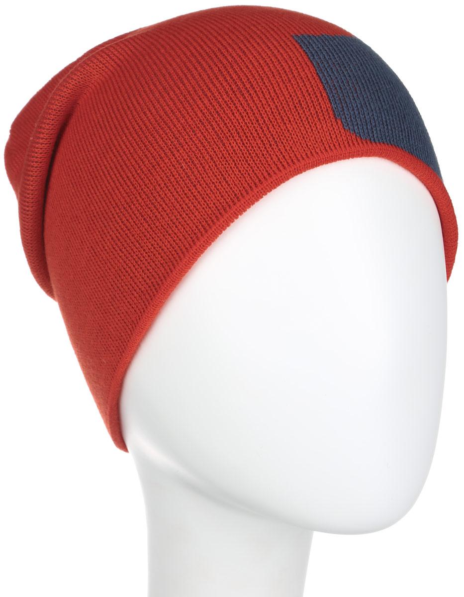 Шапка мужская M&W Beanie. EQYHA03005EQYHA03005-KVJ0Удлиненная шапка Quiksilver идеально подойдет для прогулок и занятия спортом в прохладное время года. Шапка мелкой вязки изготовлена из мягкой высококачественной акриловой пряжи, она обладает хорошими дышащими свойствами и отлично удерживает тепло. Шапка украшена контрастным изображением логотипа бренда. Такая шапка станет модным и стильным дополнением вашего зимнего гардероба. Она поднимет вам настроение даже в самые морозные дни!