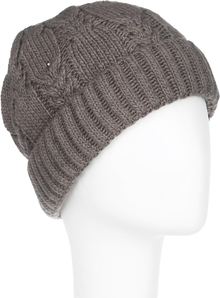 Шапка женская. 7104S7104S_11 GMСтильная женская шапка Flioraj отлично дополнит ваш образ в холодную погоду. Сочетание шерсти и акрила максимально сохраняет тепло и обеспечивает удобную посадку, невероятную легкость и мягкость. Модель оформлена крупной фигурной вязкой и стразами. Понизу шапка связана крупной резинкой и дополнена отворотом. Привлекательная стильная шапка Flioraj подчеркнет ваш неповторимый стиль и индивидуальность.