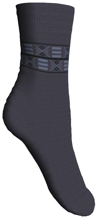 Носки52007Мягкие детские носки Master Socks изготовлены из эластичного хлопка, эластана и полиамида. Ткань очень приятная на ощупь, хорошо тянется, не деформируясь. Эластичная резинка мягко облегает ножку ребенка, обеспечивая удобство и комфорт. Модель оформлена орнаментом. Такие носочки станут отличным дополнением к детскому гардеробу! Уважаемые клиенты! Размер, доступный для заказа, является длиной стопы.