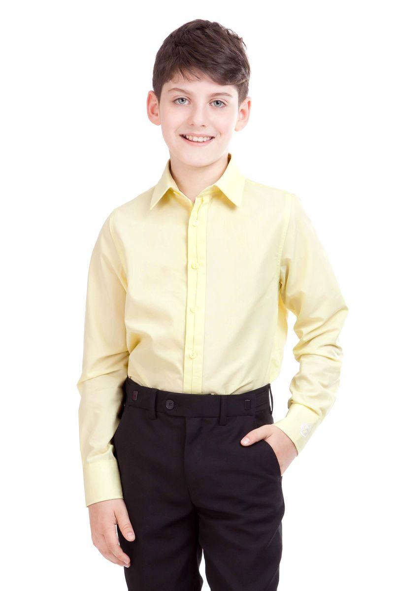 Рубашка21501BSC2313Если вы хотите купить классные школьные рубашки для мальчиков, выбор этой модели абсолютно оправдан. Рубашка для школы выглядит стильно, современно, достойно дополняя деловой образ ученика. Модный крой и отличный состав ткани обеспечивает комфорт и прекрасную посадку изделия на фигуре.