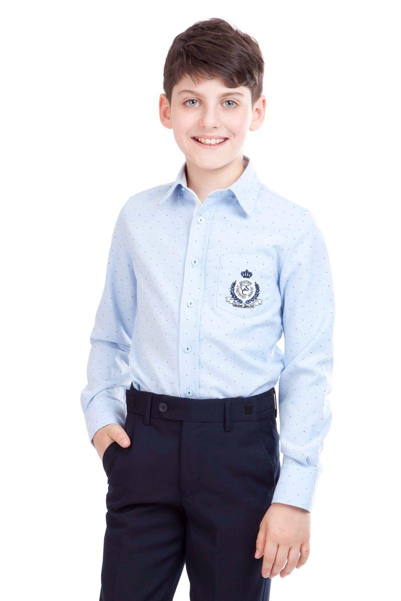 21501BSC2316Если вы хотите купить классные школьные рубашки для мальчиков, выбор этой модели абсолютно оправдан. Рубашка для школы выглядит стильно, современно, достойно дополняя деловой образ ученика. Модный крой и отличный состав ткани обеспечивает комфорт и прекрасную посадку изделия на фигуре.