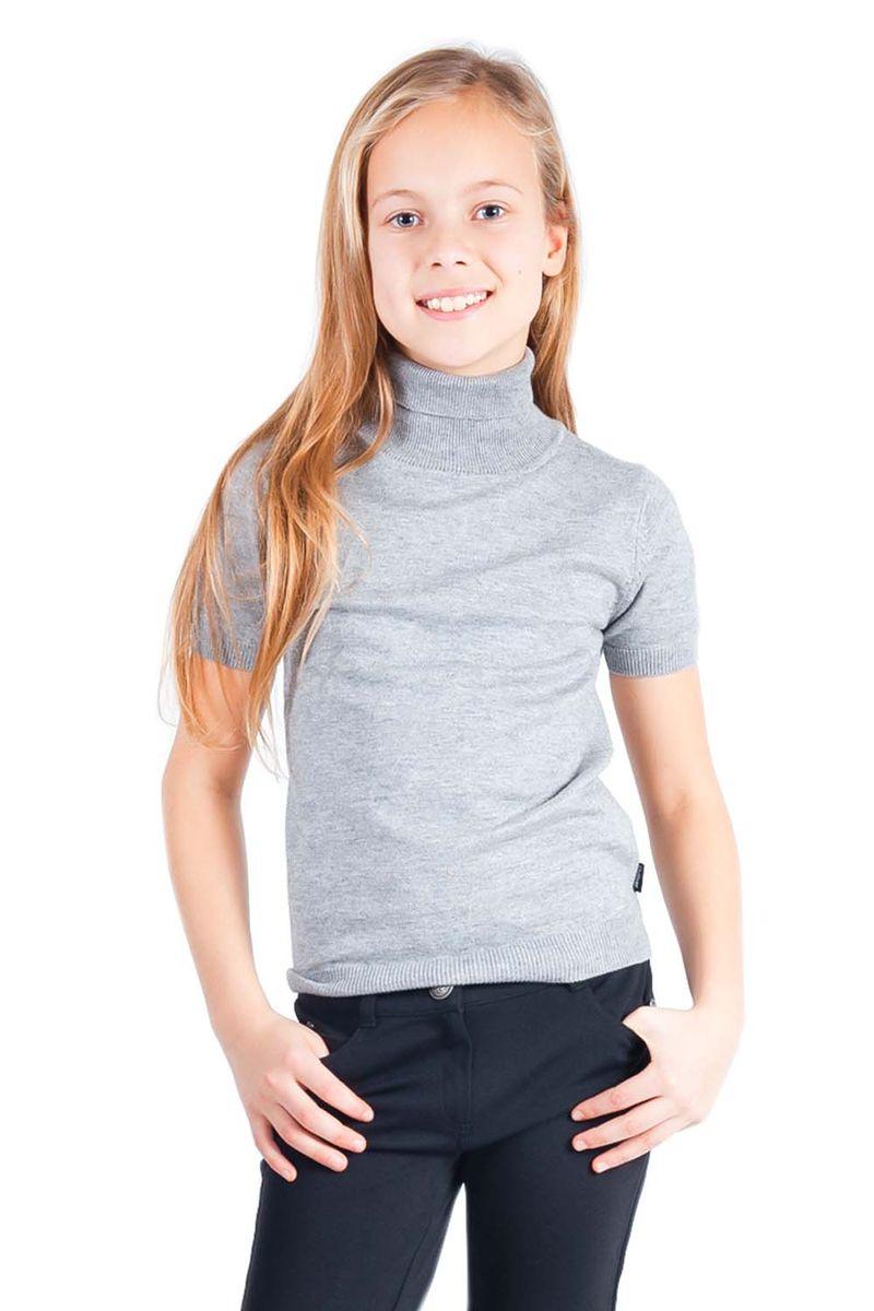 Водолазка21502GSC3201Школьные водолазки занимают в деловом гардеробе ребенка важное место. В них удобно, комфортно, уютно, они не сковывают движений, позволяя ученице быть самой собой. Сложный состав пряжи, состоящий из вискозы, шерсти, хлопка и нейлона делает водолазку очень мягкой, шелковистой, приятной на ощупь.