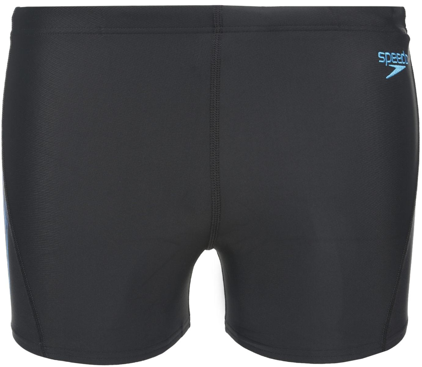 8-09196A831-A831Спортивные плавки-шорты с контрастным абстрактным принтом, выполнены из ткани Endurance10, которая в 10 раз более устойчива к разрушающему воздействию хлора, чем обычные ткани с эластаном и спандексом. Оформлены логотипом бренда. Длина бокового шва - 27 см.