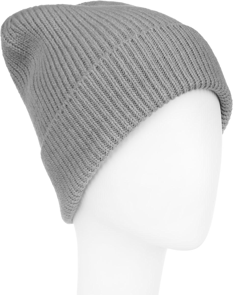 Шапка женская. 98060879806087-01Вязаная женская шапка Venera отлично дополнит ваш образ в холодную погоду. Шапка выполнена простой вязкой из мягкой пряжи, которая не доставит дискомфорта при носке. Сочетание шерсти и нейлона максимально сохраняет тепло и обеспечивает удобную посадку. Теплая шапка с отворотом станет отличным дополнением к вашему осеннему или зимнему гардеробу, в ней вам будет уютно и тепло!