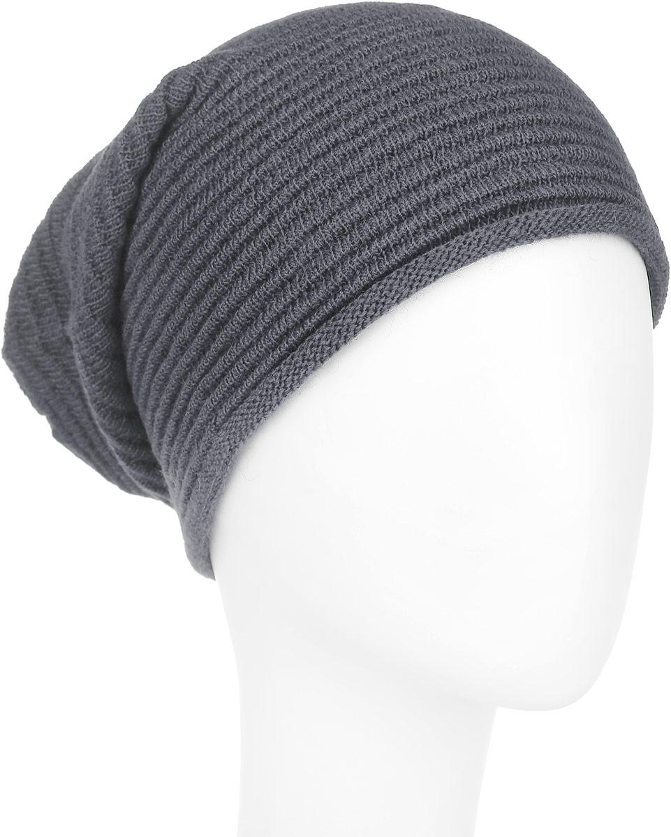 Шапка женская. 98048569804856-02Удлиненная женская шапка Venera не только согреет в прохладную погоду, но и сделает простой образ стильным и модным. Несмотря на обычную вязку и спокойный оттенок, этот аксессуар сумеет стать главным акцентом вашего образа. Края шапочки слегка закруглены. Шапка Venera станет отличным дополнением к вашему гардеробу, в ней вам будет уютно и тепло!