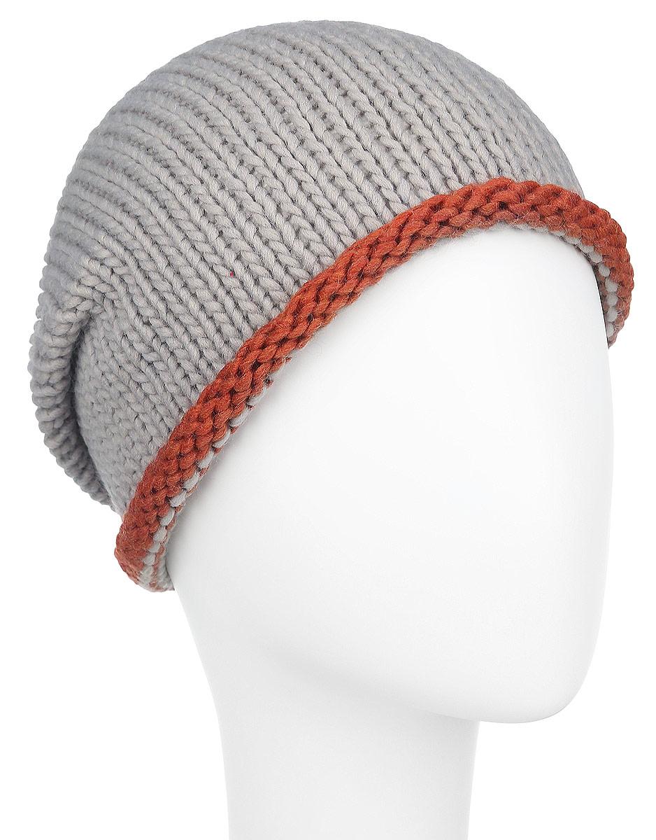 Шапка женская. 98014419801441Удлиненная женская шапка Venera не только согреет в прохладную погоду, но и сделает простой образ стильным и модным. Несмотря на обычную вязку и спокойную расцветку, этот аксессуар сумеет стать главным акцентом вашего образа. Края шапочки слегка закруглены. Шапка Venera станет отличным дополнением к вашему гардеробу, в ней вам будет уютно и тепло!