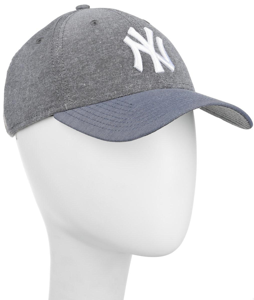 Бейсболка 9 Forty Chambray Crown. 11210321-GRH11210321-GRHСтильная бейсболка New Era 9Forty Chambray Crown, выполненная из высококачественных материалов, идеально подойдет для прогулок, занятий спортом и отдыха. Изделие оформлено объемным вышитым логотипом знаменитой бейсбольной команды New York Yankees и логотипом бренда New Era. Она надежно защитит вас от солнца и ветра. Объем бейсболки регулируется металлическим фиксатором. Ничто не говорит о настоящем любителе путешествий больше, чем любимая кепка. Эта модель станет отличным аксессуаром и дополнит ваш повседневный образ.