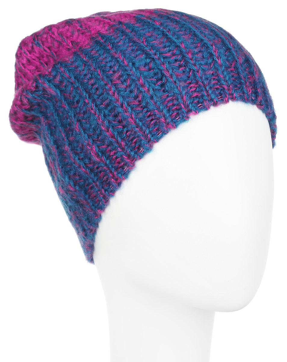 Шапка женская. 98013419801341-2Вязаная женская шапка Venera отлично дополнит ваш образ в холодную погоду. Шапка выполнена крупной вязкой из мягкой пряжи, которая не доставит дискомфорта при носке. Сочетание шерсти и акрила максимально сохраняет тепло и обеспечивает удобную посадку. Теплая шапка станет отличным дополнением к вашему осеннему или зимнему гардеробу, в ней вам будет уютно и тепло!