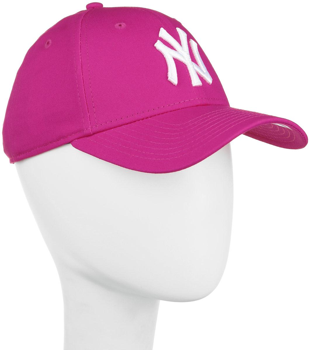 Бейсболка женская 9 Forty Fashion Essential. 11210273-BRR11210273-BRRСтильная бейсболка New Era 9 Forty Fashion Essential, выполненная из высококачественных материалов, идеально подойдет для прогулок, занятий спортом и отдыха. Изделие оформлено объемным вышитым логотипом знаменитой бейсбольной команды New York Yankees и логотипом бренда New Era. Она надежно защитит вас от солнца и ветра. Объем бейсболки регулируется металлическим фиксатором. Ничто не говорит о настоящем любителе путешествий больше, чем любимая кепка. Эта модель станет отличным аксессуаром и дополнит ваш повседневный образ.