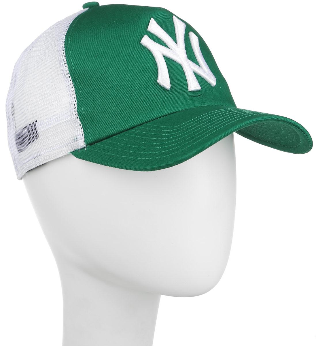 New Era Бейсболка Nos MLB Clean Trucker. 11074534-GRN