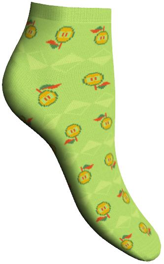 Носки женские Soft Bamboo. 85605_apple85605Удобные укороченные носки Master Socks, изготовленные из высококачественного комбинированного материала, очень мягкие и приятные на ощупь, позволяют коже дышать. Эластичная резинка плотно облегает ногу, не сдавливая ее, обеспечивая комфорт и удобство. Носки дополнены полупрозрачным орнаментом с изображением яблока. Практичные и комфортные носки великолепно подойдут к любой вашей обуви.