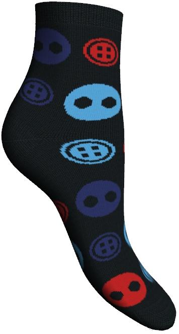 85611Удобные укороченные носки Master Socks, изготовленные из высококачественного комбинированного материала, очень мягкие и приятные на ощупь, позволяют коже дышать. Эластичная резинка плотно облегает ногу, не сдавливая ее, обеспечивая комфорт и удобство. Носки оформлены орнаментом с изображением пуговиц. Практичные и комфортные носки великолепно подойдут к любой вашей обуви.