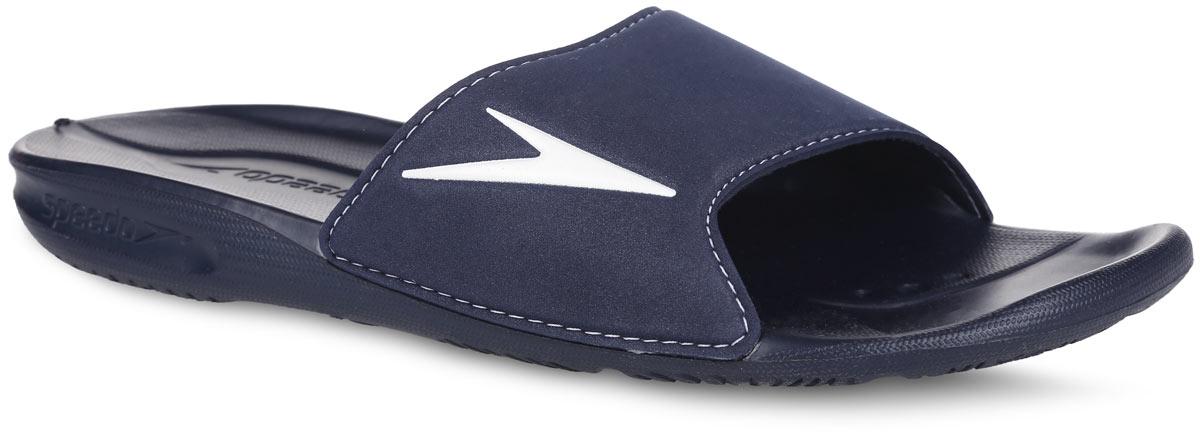 8-090727879-7879Комфортные мужские шлепанцы от Speedo Atami II Am не оставят вас равнодушным. Верх изделия выполнен из ЭВА материала и оформлен логотипом бренда. Материал ЭВА имеет пористую структуру, обладает великолепными теплоизоляционными и морозостойкими свойствами, 100% водонепроницаемостью, придает обуви амортизационные свойства, мягкость при ходьбе, устойчивость к истиранию подошвы. Текстильная подкладка предотвратит натирание. Специальный рисунок подошвы как с внутренней, так и с внешней стороны гарантирует оптимальное сцепление при ходьбе как по сухой, так и по влажной поверхности. Модные шлепанцы покорят вас своим дизайном и удобством!