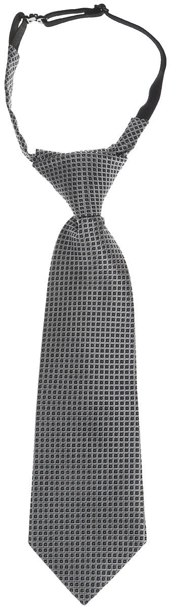 SS15B-2502-2Стильный галстук для мальчика Silver Spoon, выполненный из полиэстера, идеально подойдет вашему маленькому моднику. Дополнено изделие пластиковой застежкой-защелкой для крепления и фиксации. Уважаемые клиенты! Обращаем ваше внимание на тот факт, что размер изделия, доступный для заказа, равен его длине.