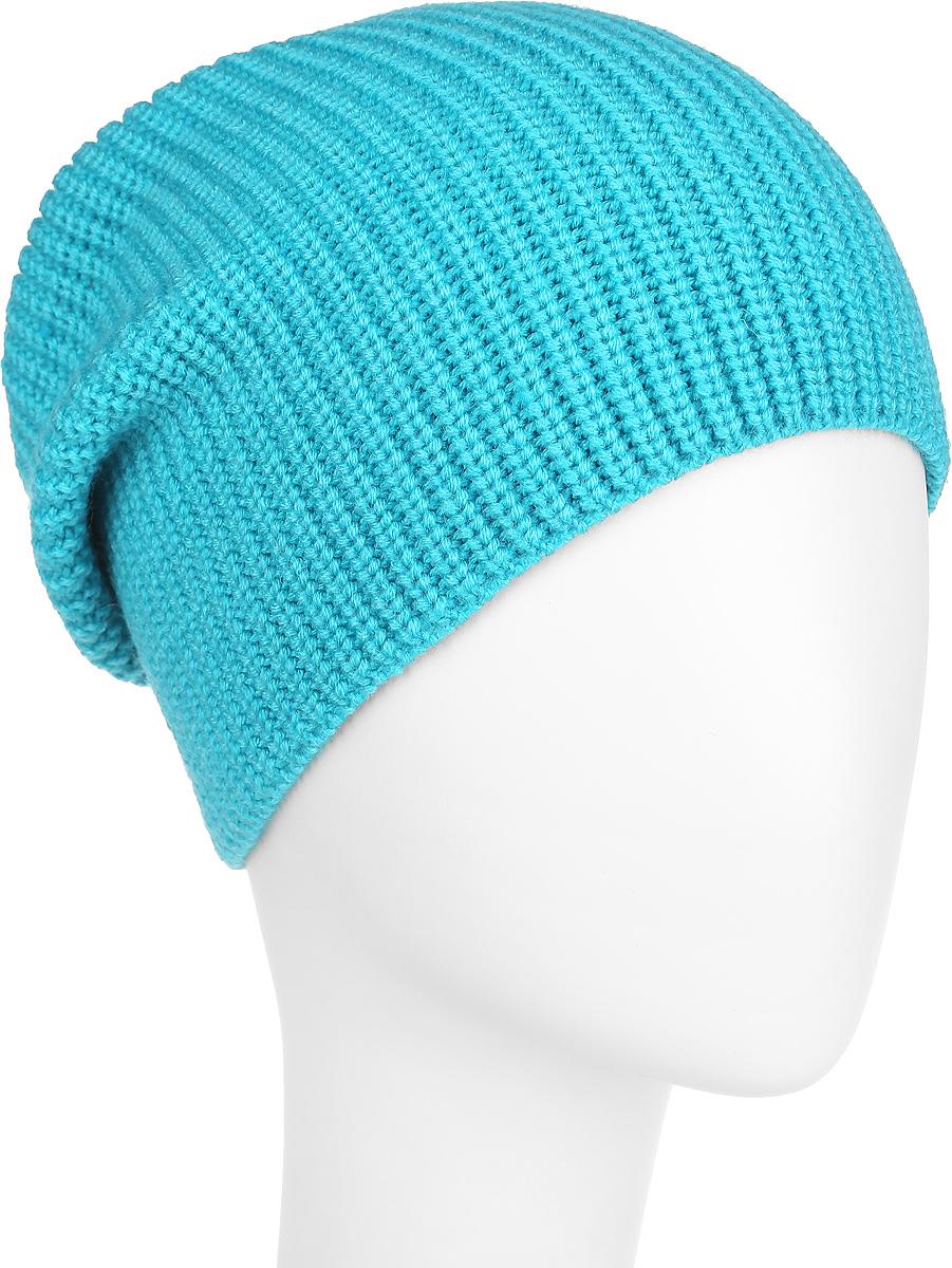 Шапка женская. 2-0372-037-002Стильная женская шапка Flioraj дополнит ваш наряд и не позволит вам замерзнуть в холодное время года. Шапка выполнена из высококачественной комбинированной пряжи из шерсти и акрила, что позволяет ей великолепно сохранять тепло и обеспечивает высокую эластичность и удобство посадки. Классическая однотонная шапка связана с резинкой, она подойдет к любому наряду. Такая шапка станет модным и стильным дополнением вашего зимнего гардероба, великолепно подойдет для активного отдыха и занятия спортом. Она согреет вас и позволит вам подчеркнуть свою индивидуальность! Уважаемые клиенты! Размер, доступный для заказа, является обхватом головы.