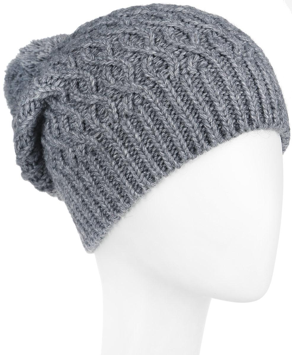 Шапка женская. 2-0092-009-002Вязаная женская шапка Flioraj отлично дополнит ваш образ в холодную погоду. Шапка из мягкой пряжи, выполнена крупной вязкой с ажурными косами и дополнена вязкой в резинку по нижнему краю. Сочетание используемых материалов максимально сохраняет тепло и обеспечивает удобную посадку. Теплая шапка с помпоном станет отличным дополнением к вашему осеннему или зимнему гардеробу, в ней вам будет уютно и тепло!