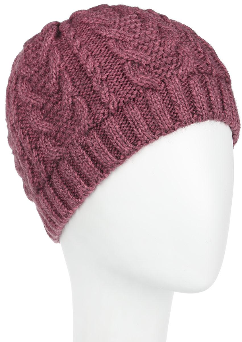Шапка женская. 3-006-2663-006_266Женская шапка Flioraj с фактурной вязкой дополнит ваш образ в холодную погоду. Она выполнена из высококачественной шерсти с добавлением акрила, приятная на ощупь, идеально прилегает к голове. Край шапки связан резинкой средней ширины. Изделие оформлено вязаным узором. Такой теплый и стильный аксессуар подчеркнет вашу женственность и неповторимость, а также защитит от холода и создаст ощущение комфорта. Уважаемые клиенты! Размер, доступный для заказа, является обхватом головы.