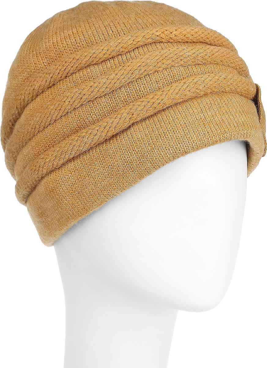 3-034_002Женская шапка Flioraj станет отличным дополнением к вашему гардеробу в холодную погоду. Двойная шапка выполнена из шерсти с добавлением акрила, мягкая и приятная на ощупь, максимально сохраняет тепло. Модель украшена декоративным элементом в виде цветка с бусинами. Такой стильный и теплый аксессуар подчеркнет вашу женственность и неповторимость. Уважаемые клиенты! Размер, доступный для заказа, является обхватом головы.