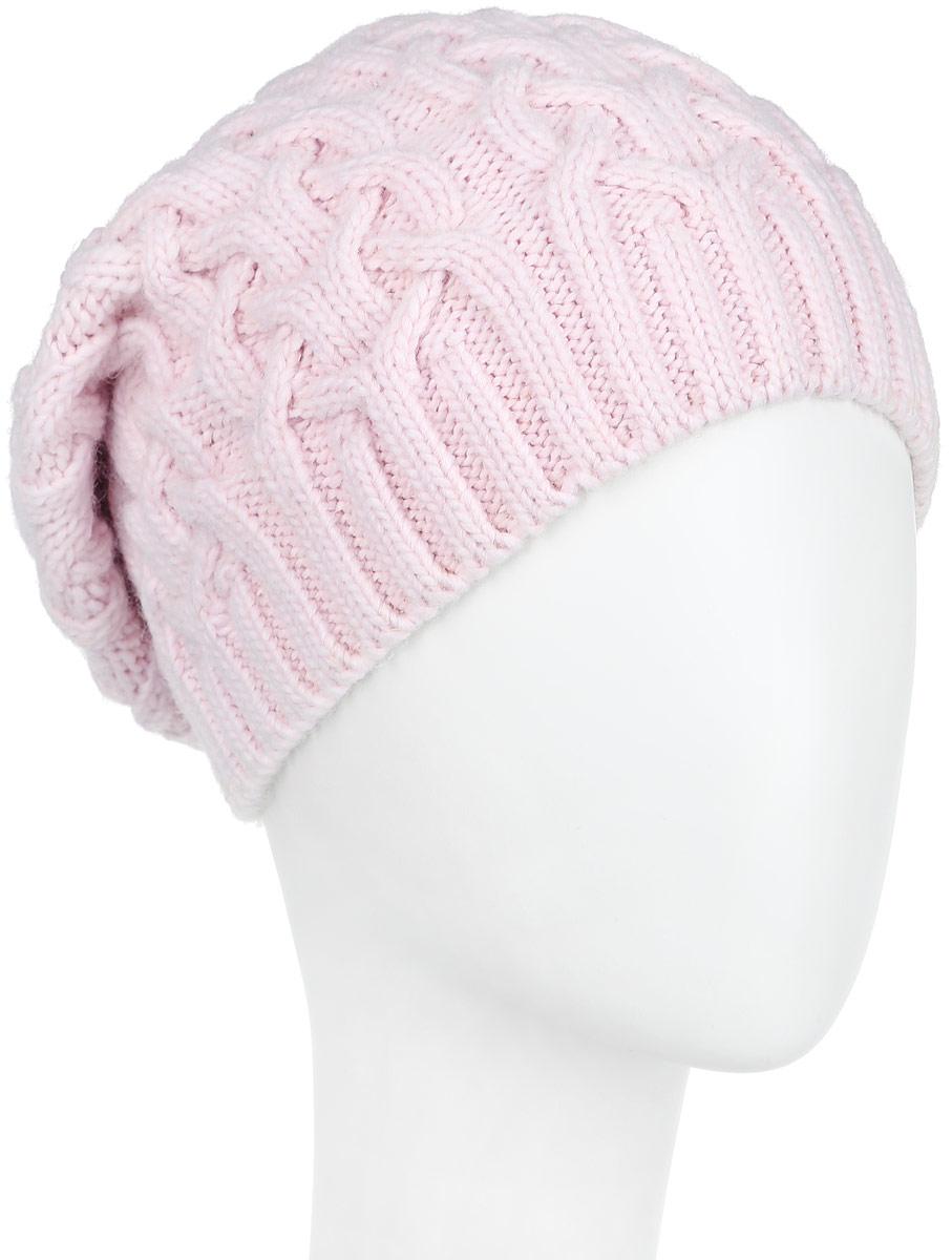 Шапка женская. 2-0032-003-006мОригинальная женская шапка Flioraj дополнит ваш наряд и не позволит вам замерзнуть в холодное время года. Шапка выполнена из высококачественной комбинированной пряжи из шерсти и акрила, что позволяет ей великолепно сохранять тепло и обеспечивает высокую эластичность и удобство посадки. Шапка имеет эластичную резинку и оформлена вязаными объемными узорами. Такая шапка станет модным и стильным дополнением вашего зимнего гардероба, великолепно подойдет для активного отдыха и занятия спортом. Она согреет вас и позволит подчеркнуть свою индивидуальность!