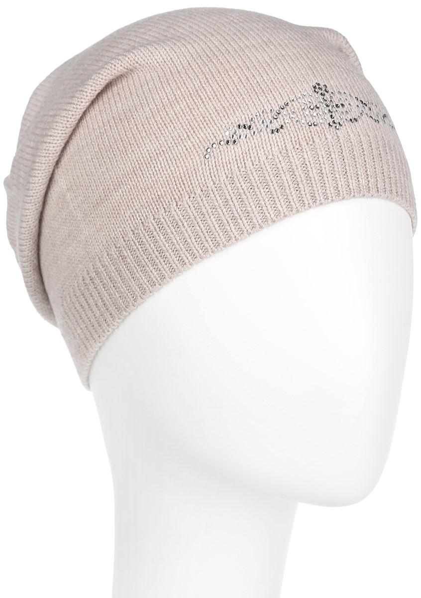 Шапка женская. 7301PI7301PI-18Удлиненная женская шапка Flioraj отлично дополнит ваш образ в холодную погоду. Сочетание шерсти и акрила максимально сохраняет тепло и обеспечивает удобную посадку, невероятную легкость и мягкость. Шапка декорирована ненавязчивым узором из страз. Привлекательная стильная шапка Flioraj подчеркнет ваш неповторимый стиль и индивидуальность.