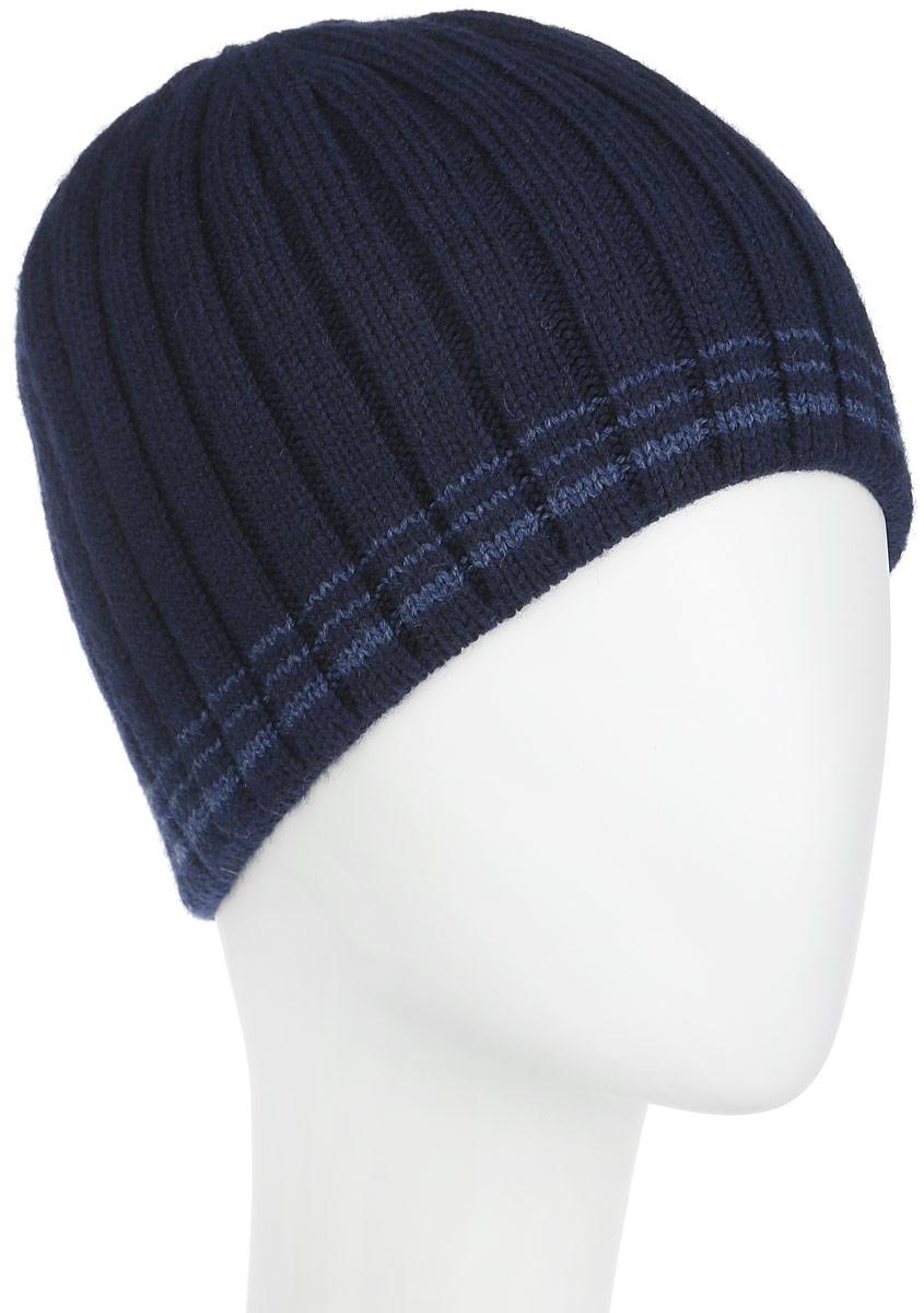 Шапка мужская. 5-0425-042-002/056Стильная мужская шапка Flioraj дополнит ваш наряд и не позволит вам замерзнуть в холодное время года. Шапка выполнена из высококачественной комбинированной пряжи из шерсти и акрила, что позволяет ей великолепно сохранять тепло и обеспечивает высокую эластичность и удобство посадки. Такая шапка станет модным дополнением вашего зимнего гардероба, великолепно подойдет для активного отдыха и занятия спортом. Она подарит вам ощущение тепла и комфорта в холодные дни и позволит вам подчеркнуть свою индивидуальность и неповторимый стиль.