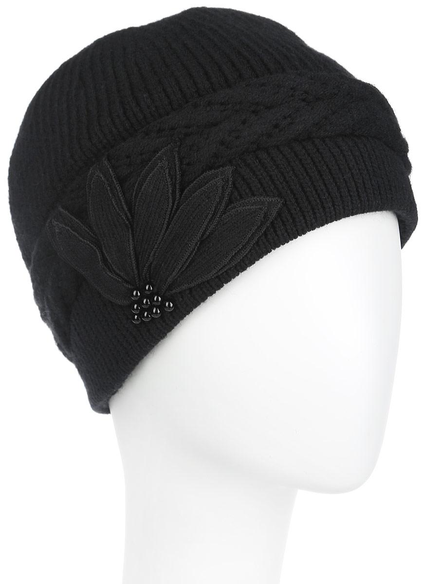 Шапка женская. 3-0413-041-002Оригинальная женская шапка Flioraj дополнит ваш наряд и не позволит вам замерзнуть в холодное время года. Шапка выполнена из высококачественной комбинированной пряжи из шерсти и акрила, что позволяет ей великолепно сохранять тепло и обеспечивает высокую эластичность и удобство посадки. Модель имеет вязаную подкладку, благодаря чему она не продувается и удобно сидит. Шапка оформлена объемными косичками и декоративным вязаным цветком, дополненным бусинами. Такая шапка станет модным и стильным дополнением вашего зимнего гардероба, великолепно подойдет для активного отдыха и занятия спортом. Она согреет вас и позволит подчеркнуть свою индивидуальность! Оригинальная женская шапка Flioraj дополнит ваш наряд и не позволит вам замерзнуть в холодное время года. Шапка выполнена из высококачественной комбинированной пряжи из шерсти и акрила, что позволяет ей великолепно сохранять тепло и обеспечивает высокую эластичность и удобство посадки. Модель имеет вязаную подкладку, благодаря...