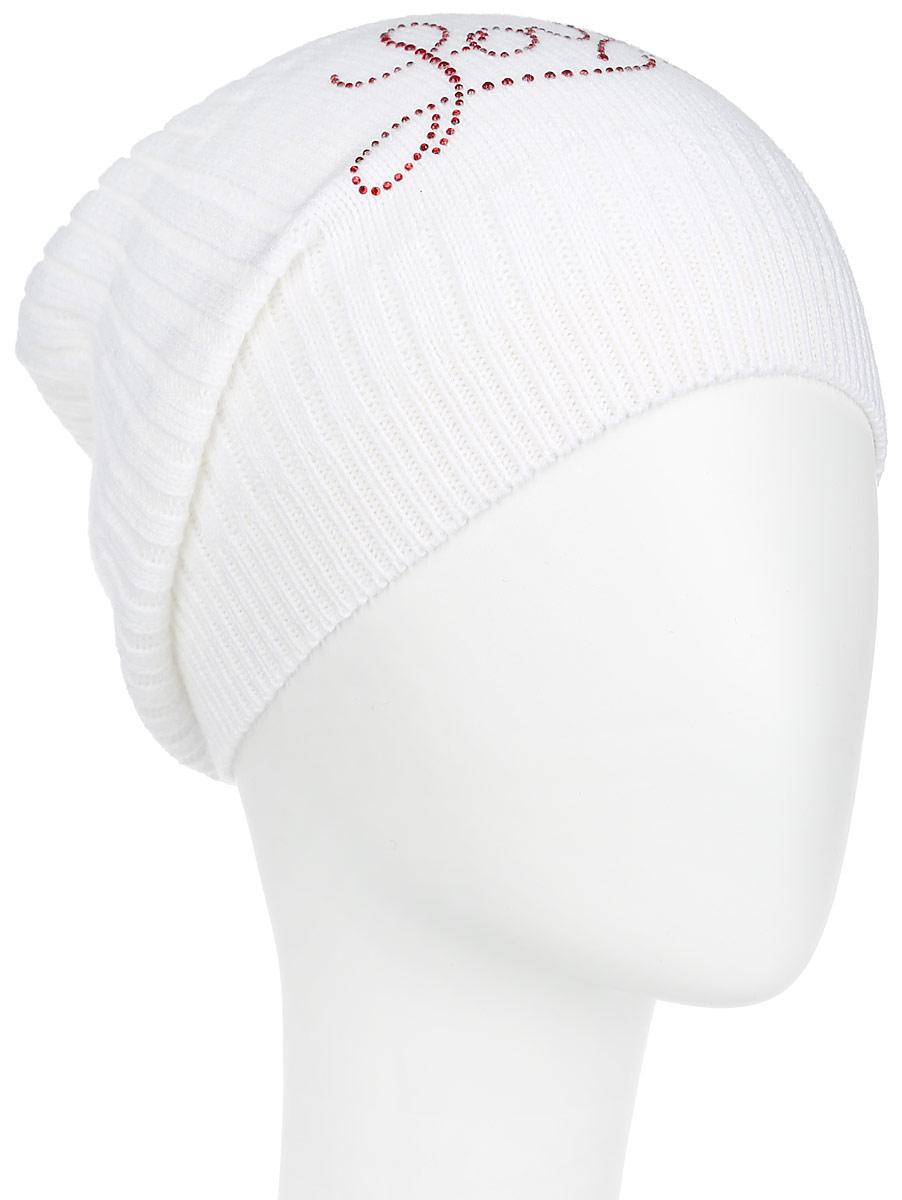 Шапка7304PI-11Удлиненная женская шапка Flioraj отлично дополнит ваш образ в холодную погоду. Сочетание шерсти и акрила максимально сохраняет тепло и обеспечивает удобную посадку, невероятную легкость и мягкость. Шапка декорирована ненавязчивым узором из страз. Привлекательная стильная шапка Flioraj подчеркнет ваш неповторимый стиль и индивидуальность.