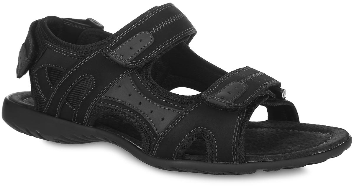 Сандалии для мальчика. 01-476-09101-476-091Модные сандалии от MakFly придутся по душе вашему мальчику и идеально подойдут для повседневной носки в летнюю погоду! Модель изготовлена из полиуретана и текстиля. Ремешки с застежками-липучками обеспечивают надежную фиксацию модели на ноге. Внутренняя поверхность - из текстиля, стелька - из натуральной кожи комфортны при ходьбе. Подошва с рифлением обеспечивает сцепление с любой поверхностью. Стильные сандалии - незаменимая вещь в гардеробе каждого мальчика!