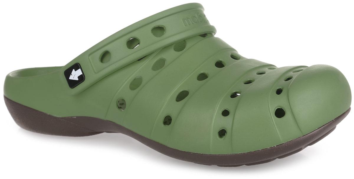 Сабо мужские. GW-1СGW-1СОчень легкие сабо от Gow с ремешком на пятке и закрытым мыском, выполненные полностью из ЭВА материала - это превосходный вид обуви. Ремешок на пятке дополнен символикой бренда. Материал ЭВА имеет пористую структуру, обладает великолепными теплоизоляционными и морозостойкими свойствами, 100% водонепроницаемостью, придает обуви амортизационные свойства, мягкость при ходьбе, устойчивость к истиранию подошвы. Рифление на верхней поверхности подошвы предотвращает выскальзывание ноги. Рельефное основание подошвы обеспечивает уверенное сцепление с любой поверхностью. Удобные сабо прекрасно подойдут для работы в огороде, для похода в бассейн или на пляж.