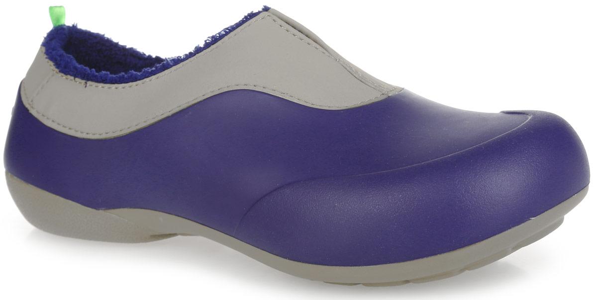 Галоши женские. GW-2MGW-2MОчень легкие галоши от Gow с закрытой пяткой и закрытым мыском, выполненные из ЭВА материала - это превосходный вид обуви. Модель имеет несъемный утеплитель удобный для одевания и снимания, который защитит ваши ноги от зябкого межсезонья. Материал ЭВА имеет пористую структуру, обладает великолепными теплоизоляционными и морозостойкими свойствами, 100% водонепроницаемостью, придает обуви амортизационные свойства, мягкость при ходьбе, устойчивость к истиранию подошвы. Рельефное основание подошвы обеспечивает уверенное сцепление с любой поверхностью. Удобные галоши прекрасно подойдут для работы в огороде, а также для носки в непогоду.