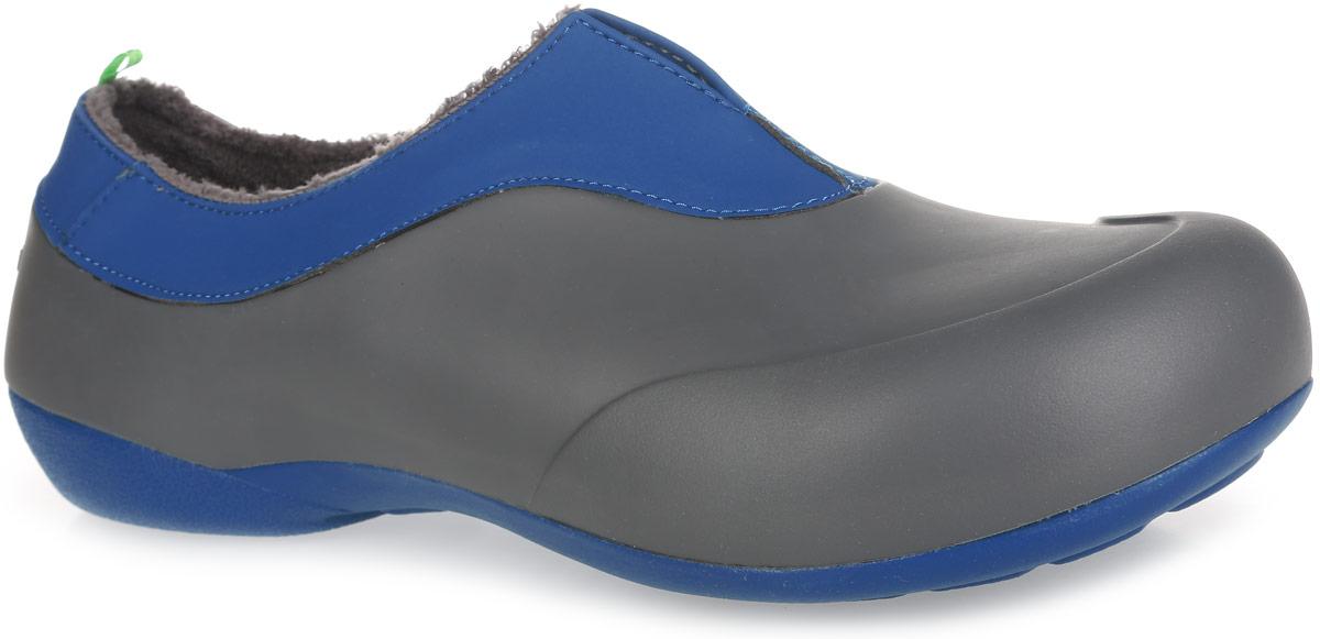 Галоши мужские. GW-1MGW-1MОчень легкие галоши от Gow с закрытой пяткой и закрытым мыском, выполненные из ЭВА материала - это превосходный вид обуви. Модель имеет несъемный утеплитель удобный для одевания и снимания, который защитит ваши ноги от зябкого межсезонья. Материал ЭВА имеет пористую структуру, обладает великолепными теплоизоляционными и морозостойкими свойствами, 100% водонепроницаемостью, придает обуви амортизационные свойства, мягкость при ходьбе, устойчивость к истиранию подошвы. Рельефное основание подошвы обеспечивает уверенное сцепление с любой поверхностью. Удобные галоши прекрасно подойдут для работы в огороде, а также для носки в непогоду.