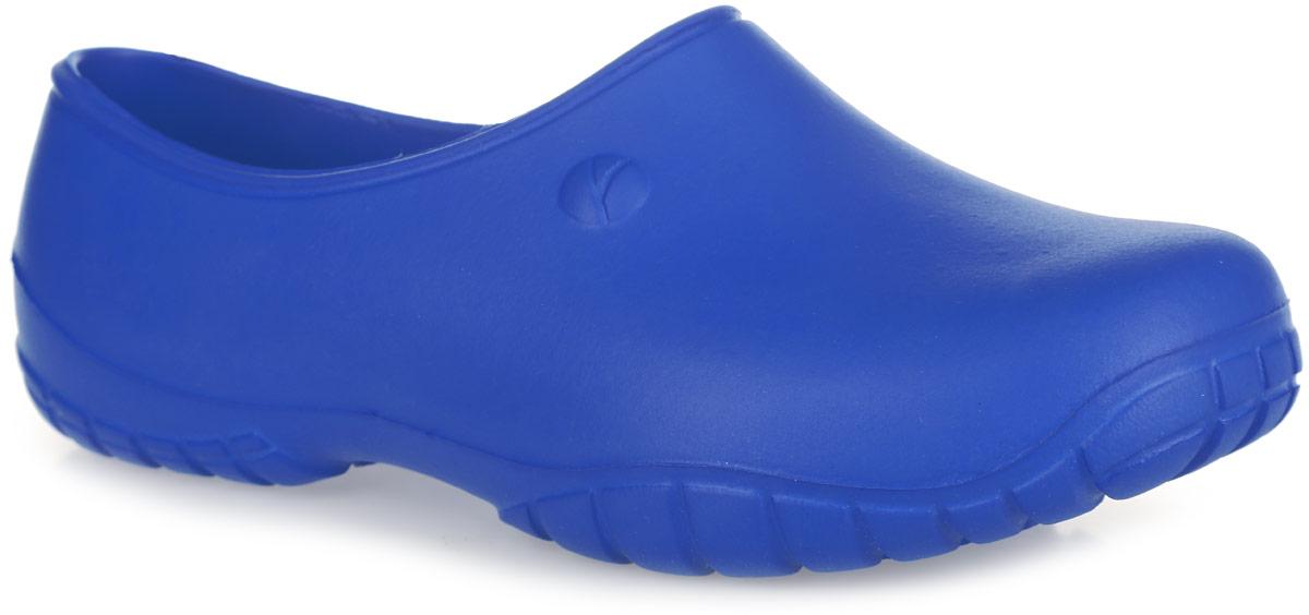 2ВОчень легкие галоши от OYO с закрытой пяткой и закрытым мыском, выполненные полностью из ЭВА материала - это превосходный вид обуви. Материал ЭВА имеет пористую структуру, обладает великолепными теплоизоляционными и морозостойкими свойствами, 100% водонепроницаемостью, придает обуви амортизационные свойства, мягкость при ходьбе, устойчивость к истиранию подошвы. Рифление на верхней поверхности подошвы предотвращает выскальзывание ноги. Рельефное основание подошвы обеспечивает уверенное сцепление с любой поверхностью. Удобные галоши прекрасно подойдут для работы в огороде.