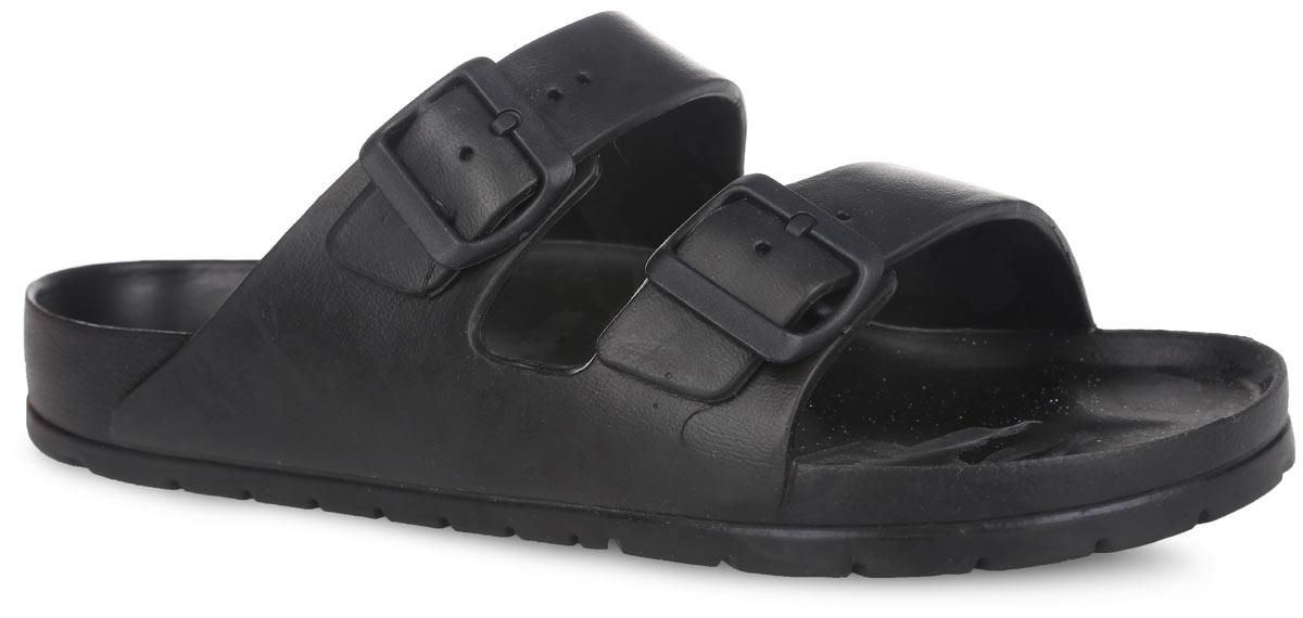 Шлепанцы мужские. бс12бс12Очень легкие шлепанцы от AYO с ремешками на подъеме, выполненные полностью из ЭВА материала - это превосходный вид обуви. Ремешки на подъеме дополнены пряжками, которые позволяют регулировать объем. Материал ЭВА имеет пористую структуру, обладает великолепными теплоизоляционными и морозостойкими свойствами, 100% водонепроницаемостью, придает обуви амортизационные свойства, мягкость при ходьбе, устойчивость к истиранию подошвы. Рельефное основание подошвы обеспечивает уверенное сцепление с любой поверхностью. Удобные шлепанцы прекрасно подойдут для работы в огороде, для похода в бассейн или на пляж.