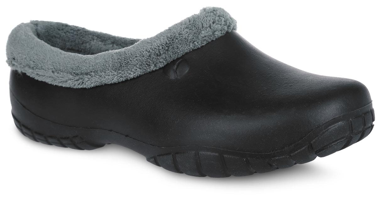 Галоши мужские. 1BU1BUОчень легкие галоши от OYO с закрытой пяткой и закрытым мыском, выполненные из ЭВА материала - это превосходный вид обуви. Модель имеет несъемный текстильный утеплитель удобный для одевания и снимания, который защитит ваши ноги от зябкого межсезонья. Материал ЭВА имеет пористую структуру, обладает великолепными теплоизоляционными и морозостойкими свойствами, 100% водонепроницаемостью, придает обуви амортизационные свойства, мягкость при ходьбе, устойчивость к истиранию подошвы. Рельефное основание подошвы обеспечивает уверенное сцепление с любой поверхностью. Удобные галоши прекрасно подойдут для работы в огороде, а также для носки в непогоду.