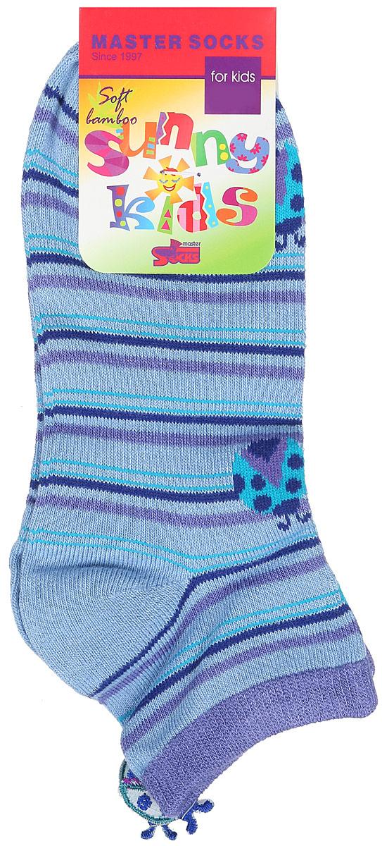 Носки для девочки Sunny Kids. 82610_божьи коровки82610Детские носки Master Socks Sunny Kids изготовлены из высококачественных материалов. Ткань очень мягкая и тактильно приятная. Содержание бамбука в составе обеспечивает высокую прочность, эластичность и воздухопроницаемость. Изделие хорошо стирается, длительное время сохраняет привлекательный внешний вид. Эластичная резинка мягко облегает ножку ребенка, обеспечивая удобство и комфорт. Укороченная модель оформлена принтом в полоску и изображением божьих коровок. Украшены носочки аппликацией в виде божьей коровки. Красивые и удобные носочки станут отличным дополнением к детскому гардеробу! Уважаемые клиенты! Размер, доступный для заказа, является длиной стопы.