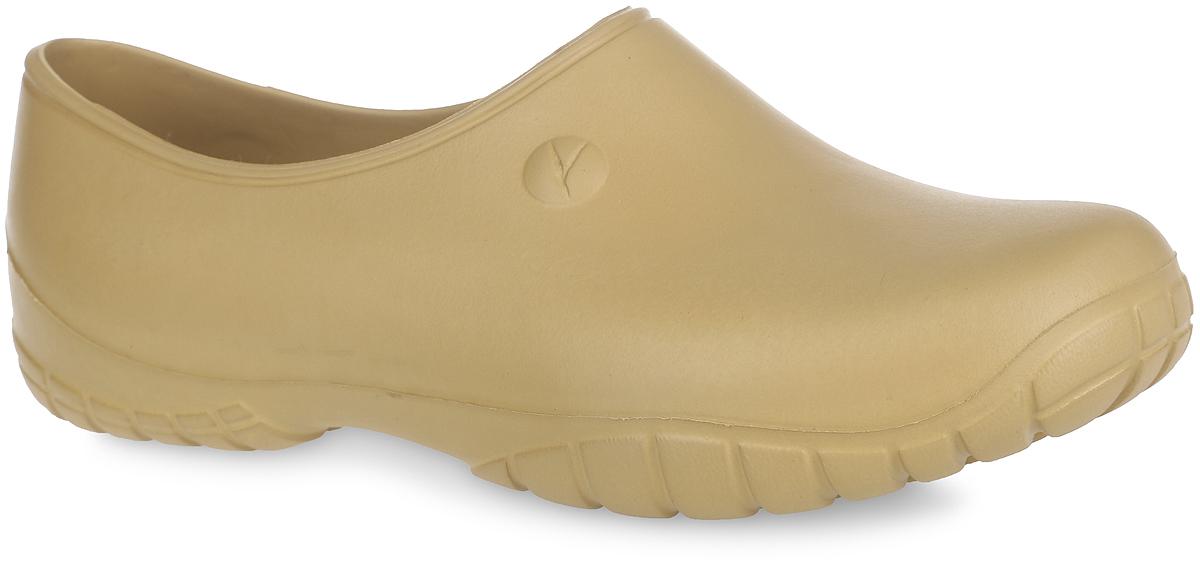 Галоши женские. 2В2ВОчень легкие галоши от OYO с закрытой пяткой и закрытым мыском, выполненные полностью из ЭВА материала - это превосходный вид обуви. Материал ЭВА имеет пористую структуру, обладает великолепными теплоизоляционными и морозостойкими свойствами, 100% водонепроницаемостью, придает обуви амортизационные свойства, мягкость при ходьбе, устойчивость к истиранию подошвы. Рифление на верхней поверхности подошвы предотвращает выскальзывание ноги. Рельефное основание подошвы обеспечивает уверенное сцепление с любой поверхностью. Удобные галоши прекрасно подойдут для работы в огороде.