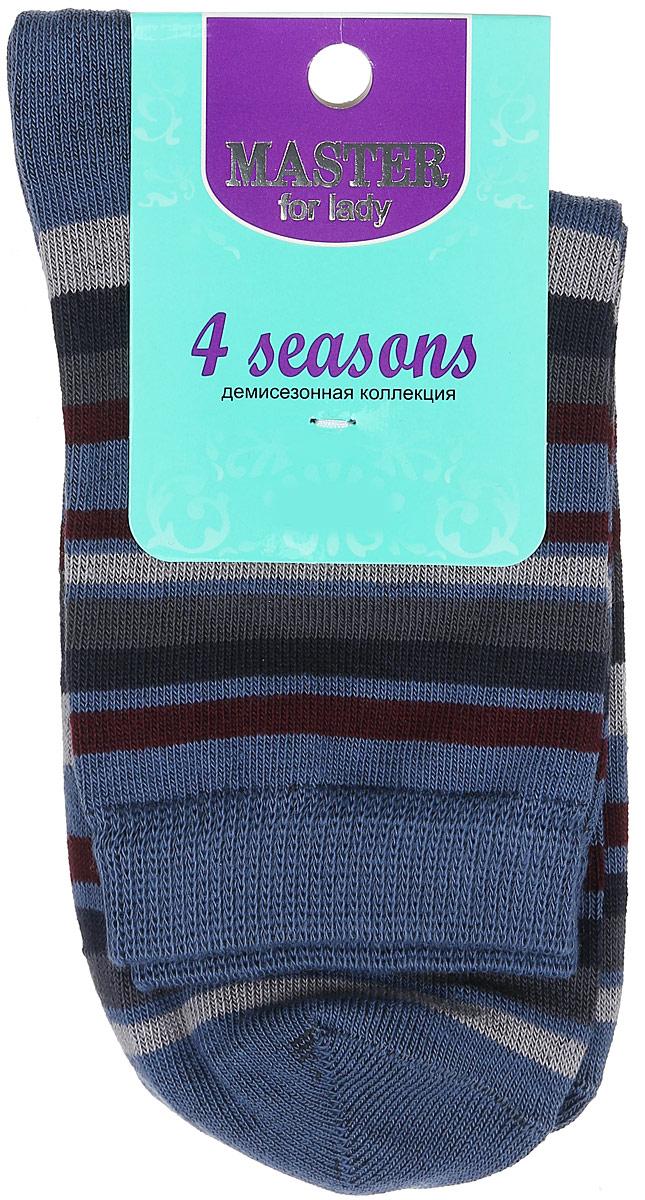 Носки55002Удобные носки Master Socks, изготовленные из высококачественного комбинированного материала, очень мягкие и приятные на ощупь, позволяют коже дышать. Эластичная резинка плотно облегает ногу, не сдавливая ее, обеспечивая комфорт и удобство. Носки с паголенком классической длины оформлены принтом в полоску. Практичные и комфортные носки великолепно подойдут к любой вашей обуви.