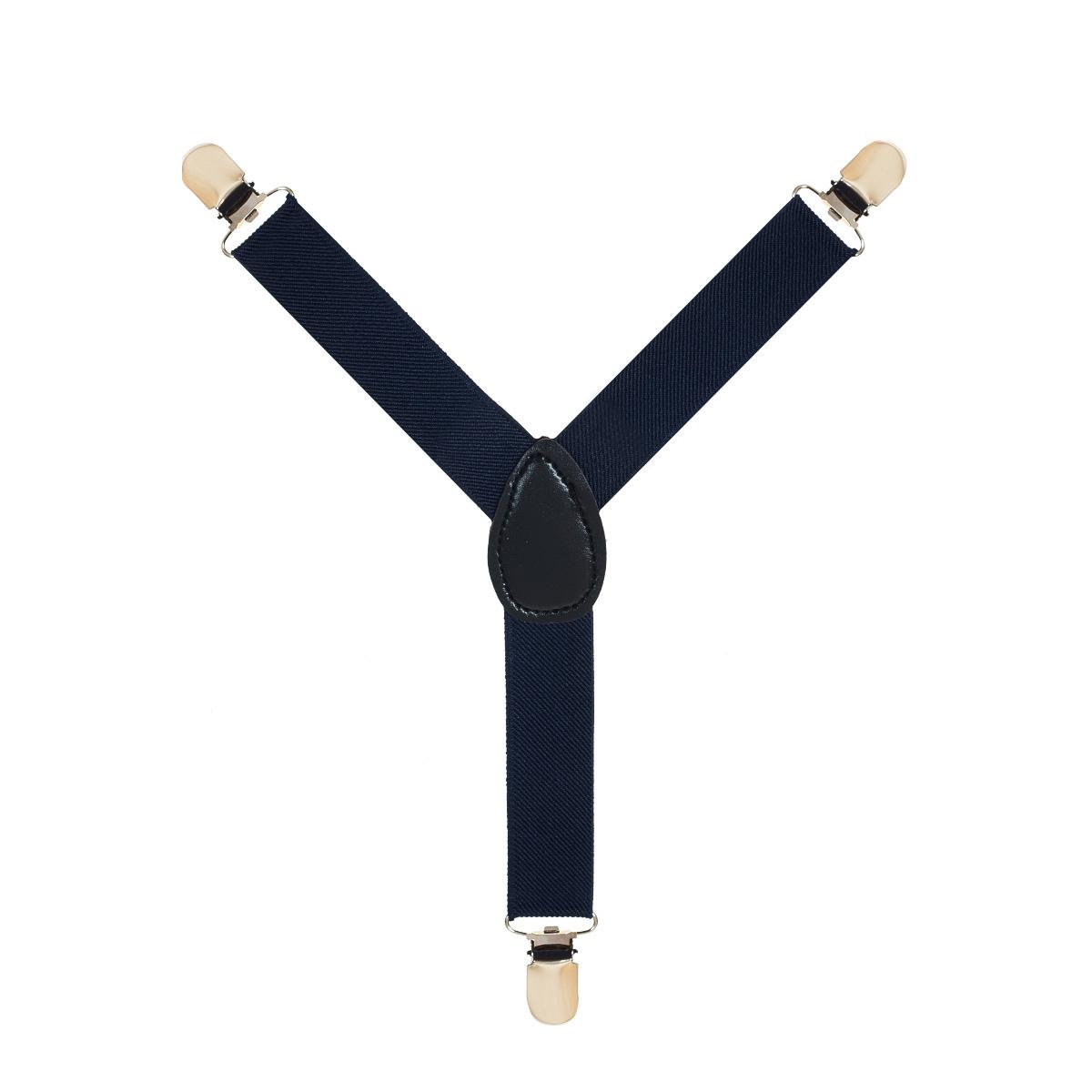 Подтяжки907188-29Подтяжки для мальчика Huanggang Jiazhi Textile выполнены из полиэстера. Изделие можно регулировать по длине. Подтяжки прикрепляются к поясу брюк при помощи трех прочных зажимов и надежно фиксируют брюки, не позволяя им сползать.