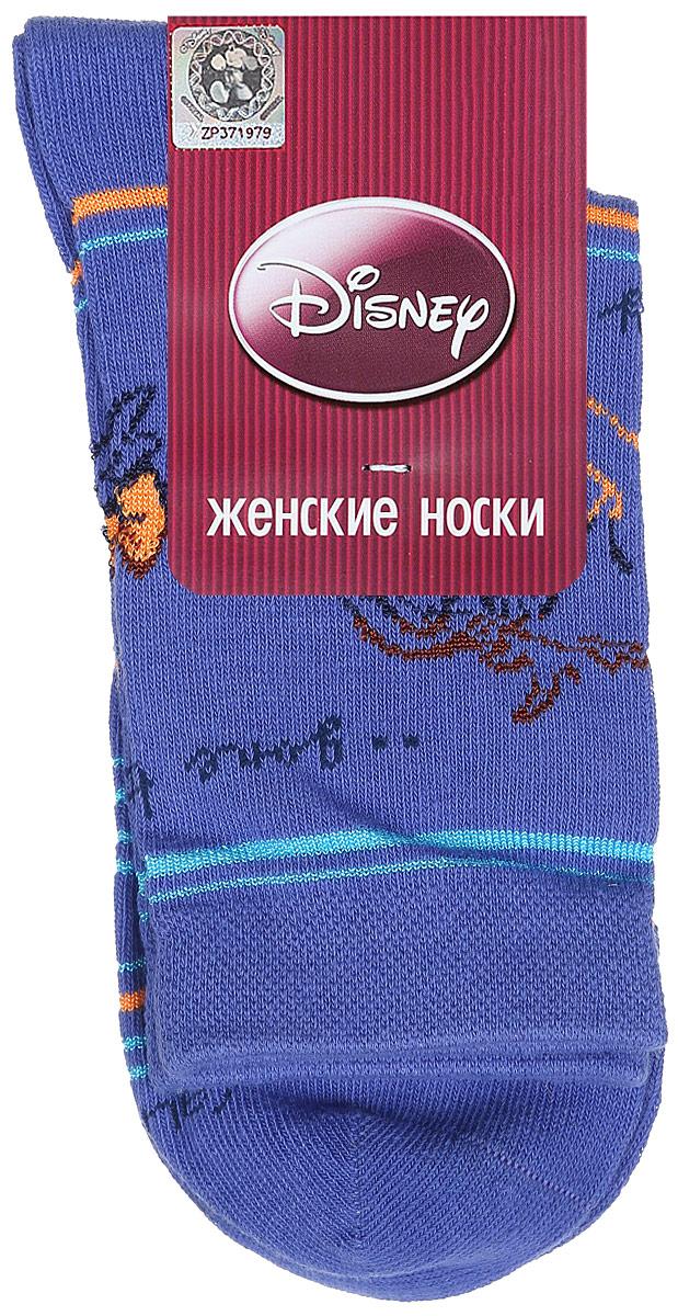 Носки женские Disney. 15100_иа15100Удобные носки Master Socks, изготовленные из высококачественного комбинированного материала, очень мягкие и приятные на ощупь, позволяют коже дышать. Эластичная резинка плотно облегает ногу, не сдавливая ее, обеспечивая комфорт и удобство. Носки оформлены принтом с изображением героев мультфильма. Практичные и комфортные носки великолепно подойдут к любой вашей обуви.