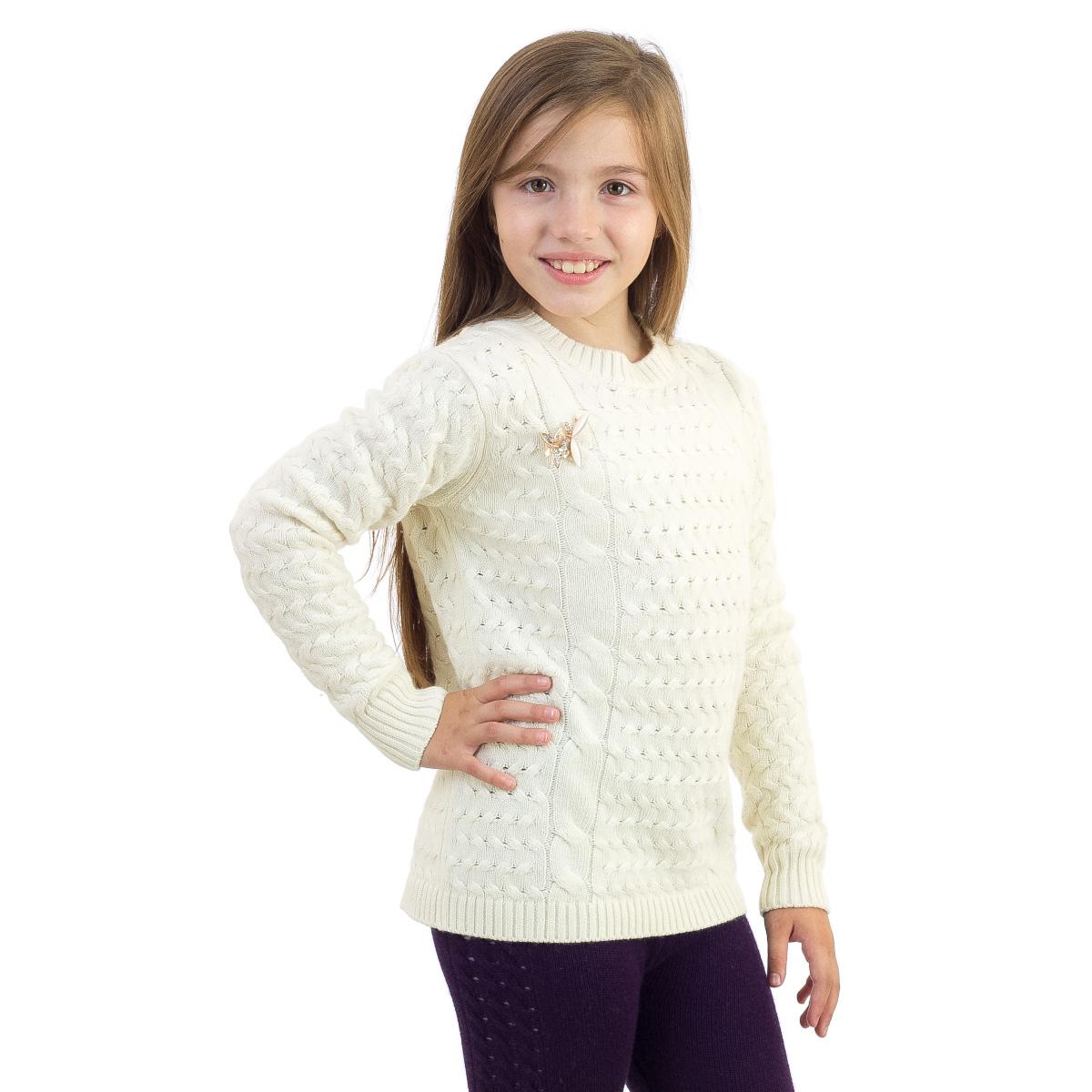 Джемпер трикотажный для девочки. WK5517-17WK5517-17