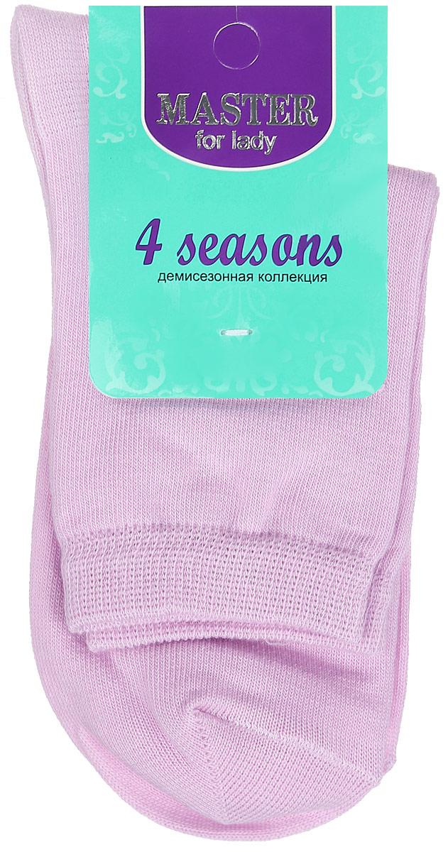 Носки женские. 5500155001Удобные носки Master Socks, изготовленные из высококачественного комбинированного материала, очень мягкие и приятные на ощупь, позволяют коже дышать. Эластичная резинка плотно облегает ногу, не сдавливая ее, обеспечивая комфорт и удобство. Носки с паголенком классической длины. Практичные и комфортные носки великолепно подойдут к любой вашей обуви.